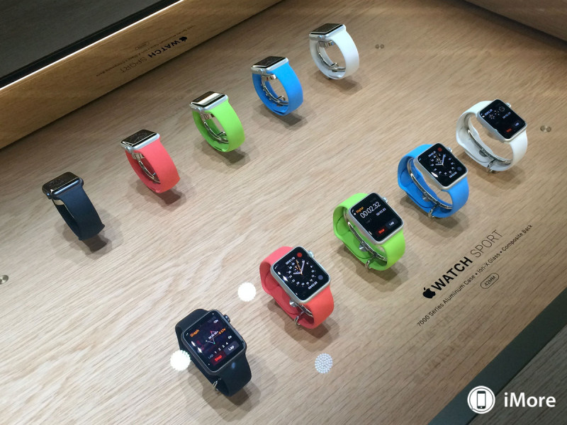 apple watch sport colors demo