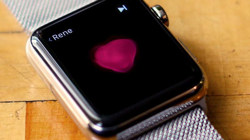 apple watch heart beat hero