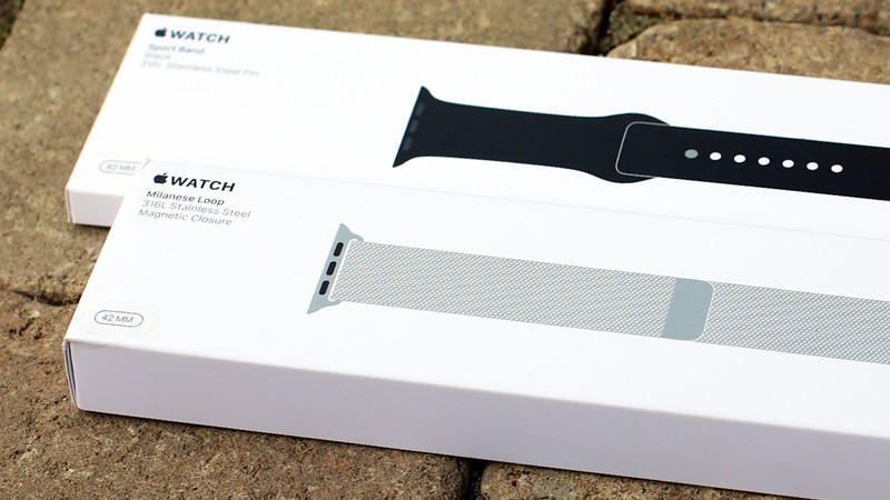 apple watch bands boxes