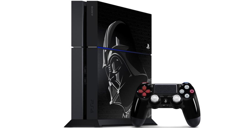Sony annuncia una Playstation 4 in edizione limitata dedicata a Darth Vader