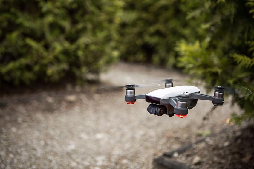 Spark, mini drone per riprese aeree perfette