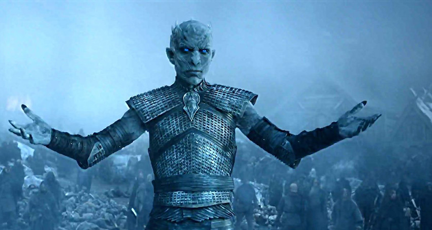 game of thrones night king white walker