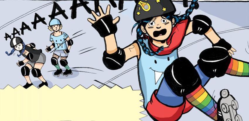 Roller Girl e Super Sorda, fumetti formativi per ogni età | Tom's ...
