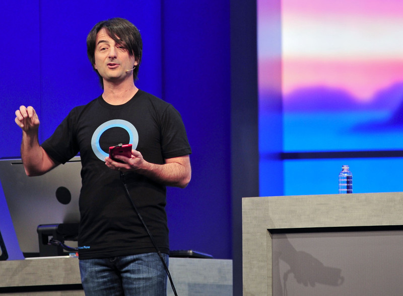 Joe Belfiore Cortana Shirt Hero