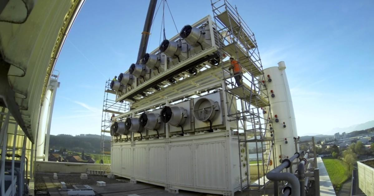 Climeworks, mostro che mangia 900 tonnellate di CO2 l'anno