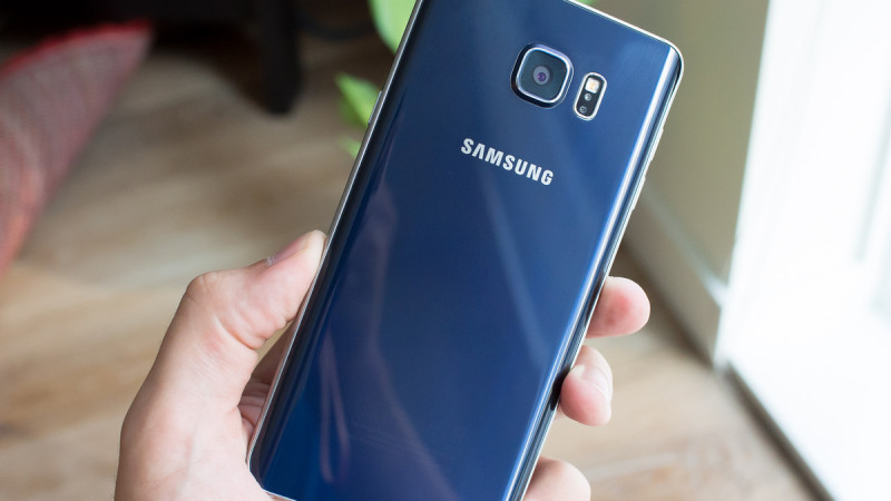 galaxy note 5 back blue full