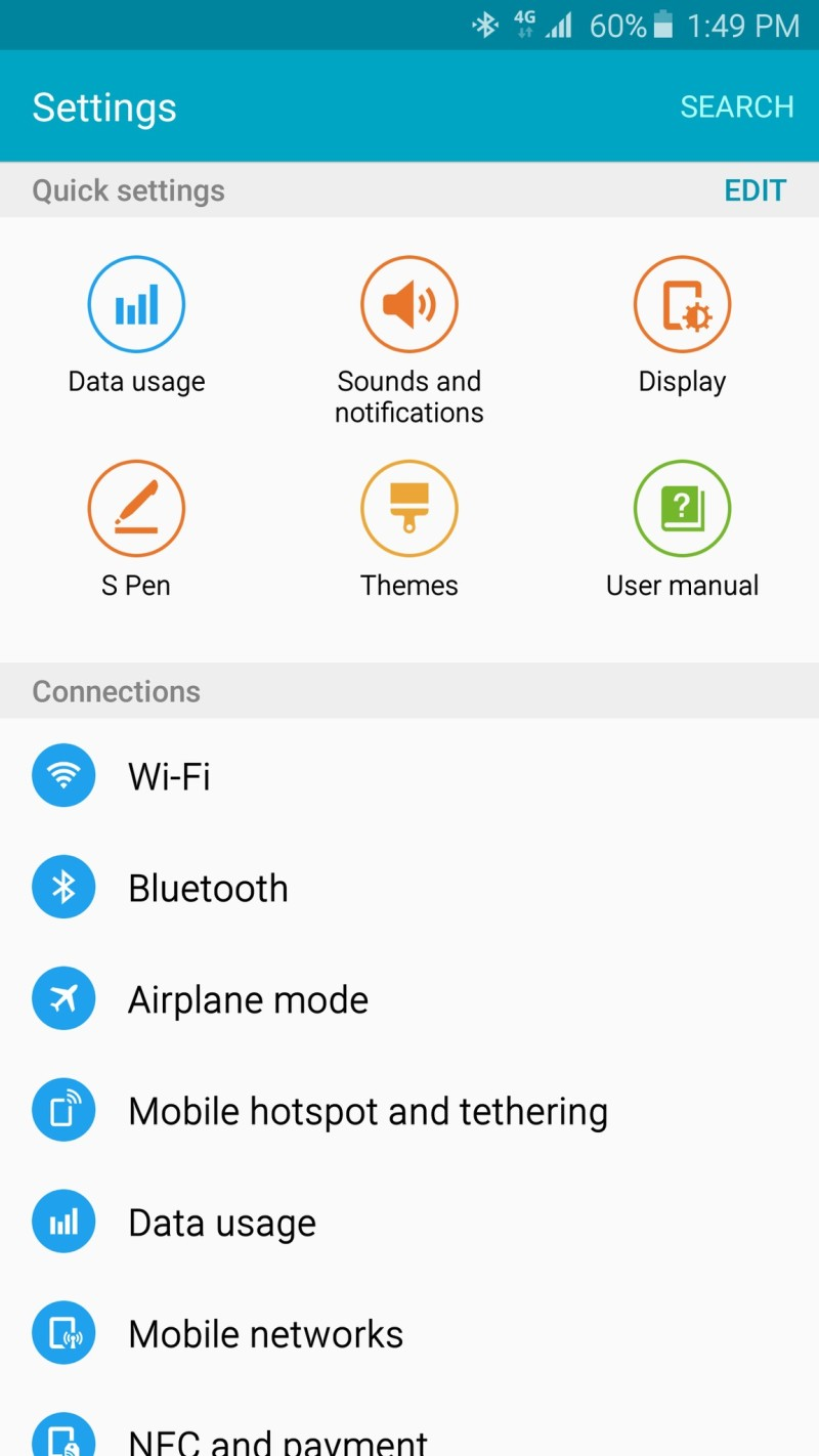 galaxy note 5 software screen 05