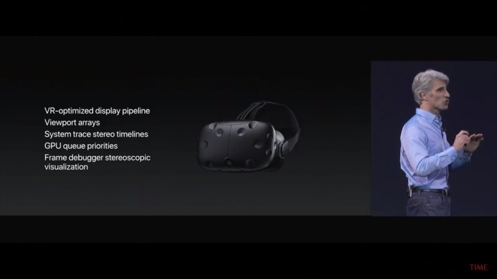 apple metal vr