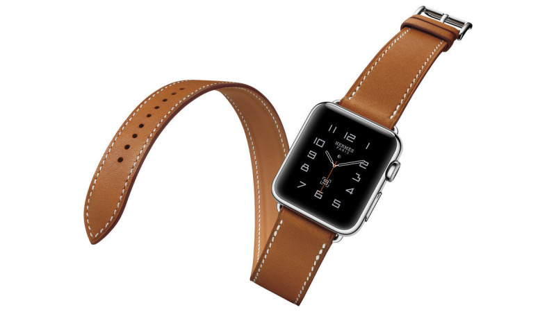 apple watch hermes double tour press