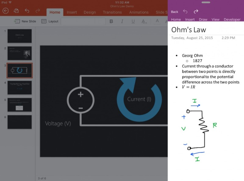 Office updates for the iPad 1 1024x763