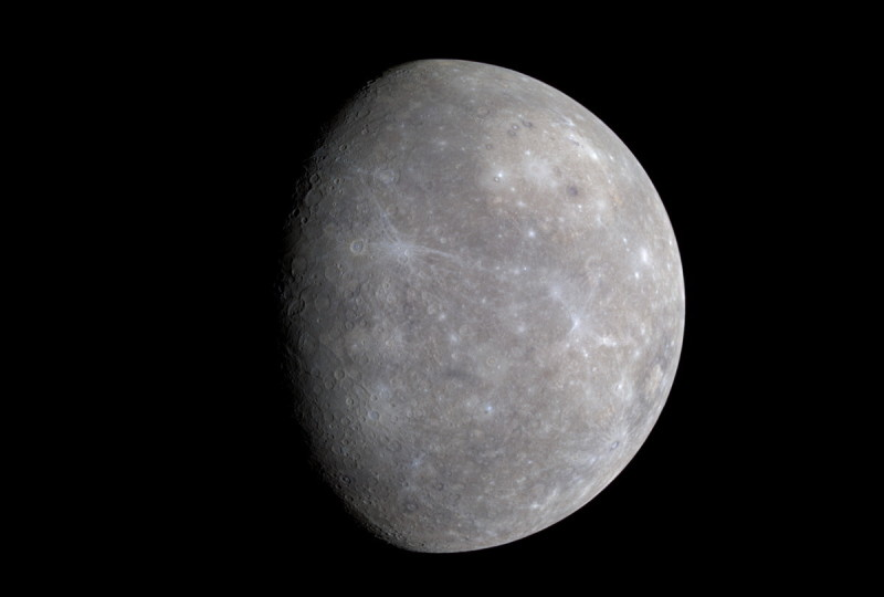 Mercury's extreme temperatures and lack of an atmosphere would make it very difficult, if not impossible, for people to live on the planet