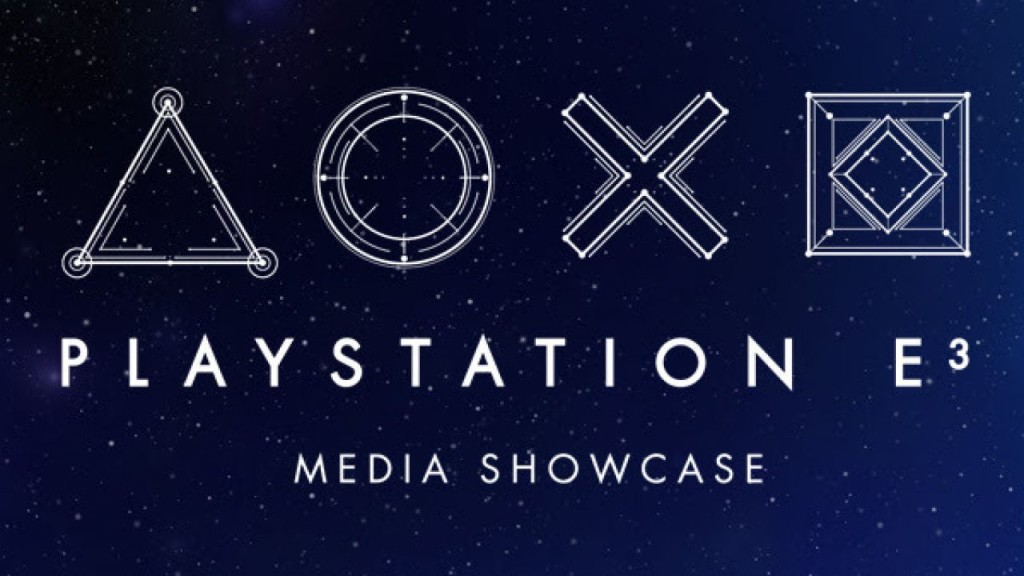 Sony E3 2017 Media Showcase