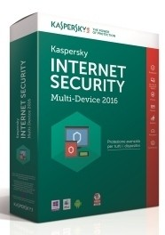 Immagine box Kaspersky Internet Security Multi Device 2016