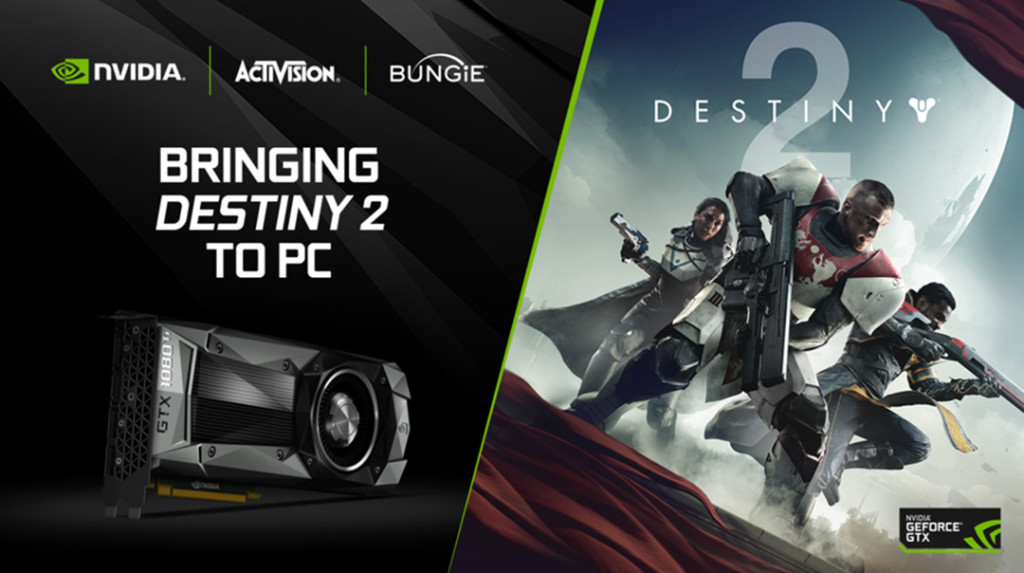 Destiny 2: bundle NVIDIA e filmato di gioco in 4K