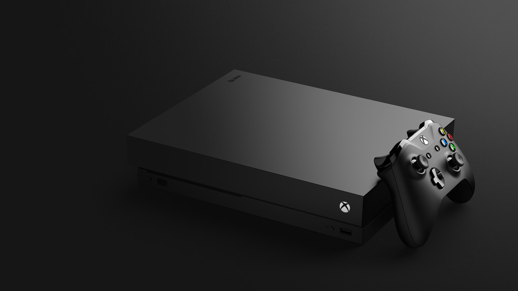 E3 2017, Xbox One X, uscirà il 7 novembre