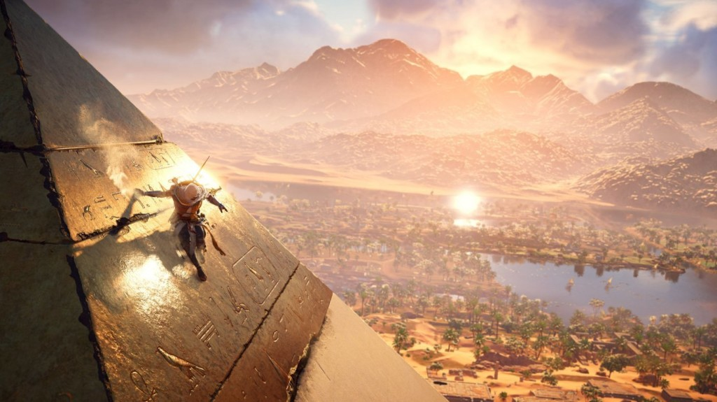 assassin's creed origin pyramid