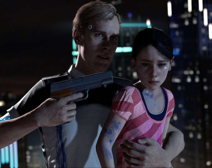 Hands-on Detroit: Become Human, anche i droidi sanguinano