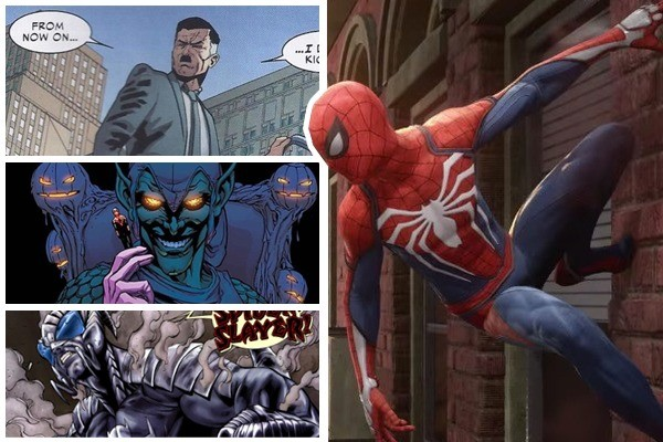 Nel gioco di Spider-Man per PS4 ci saranno tantissimi villain!