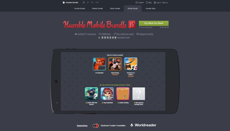Humble Mobile Bundle 15