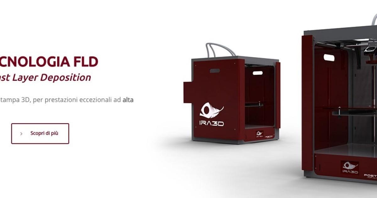 Poetry Infinity, la stampante 3D italiana scheggia: 15 micron di risoluzione e 400 mm al secondo