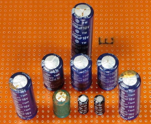 condensatori alimentatore pc