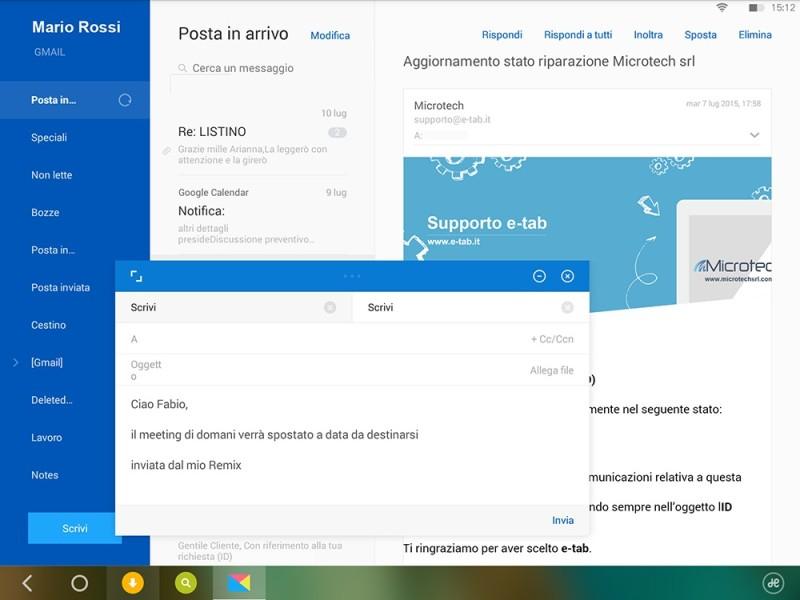 Microtech e-tab, tablet dal design italiano con Windows 10 ...