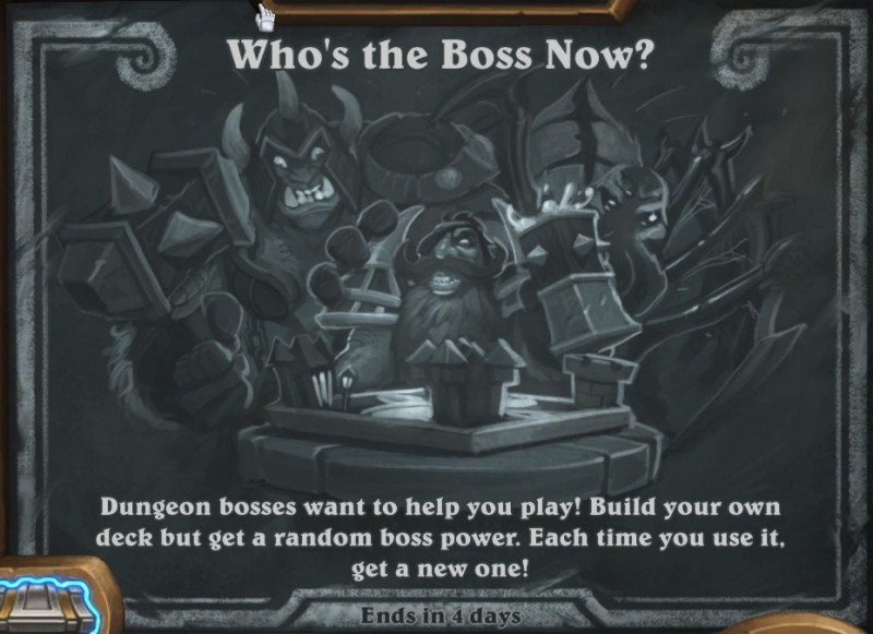 Hearthstone Who's the Boss Now?