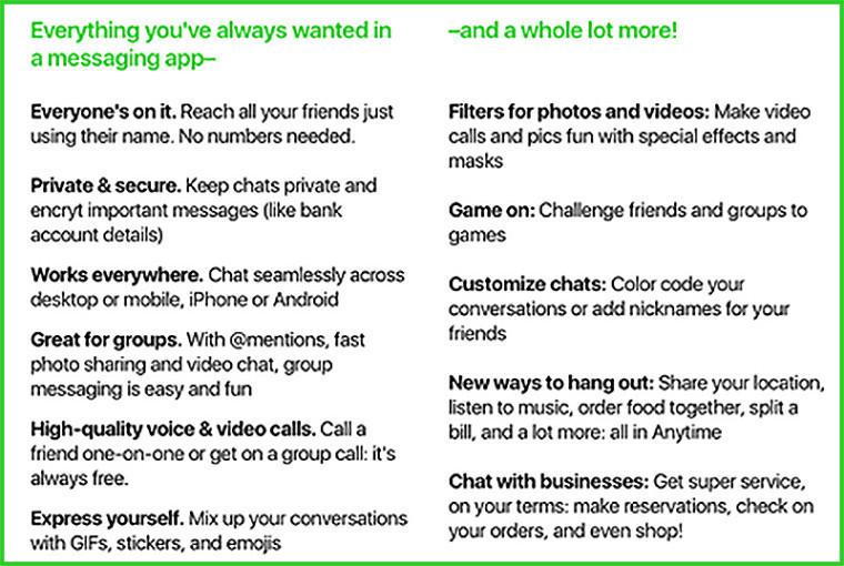 Amazon vuole sfidare WhatsApp: Anytime, l'app per chattare (e fare acquisti online)