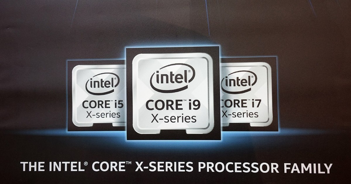 Il Core i9-7920X ha una frequenza base di 2,9 GHz