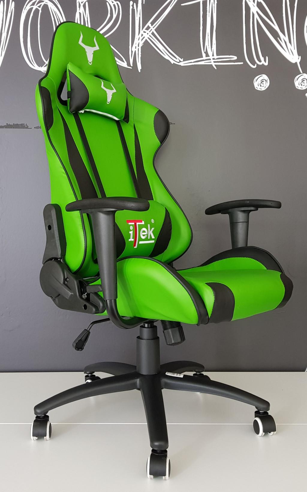 Itek taurus p2 sedia gaming economica alla prova tom 39 s for Sedia da gaming