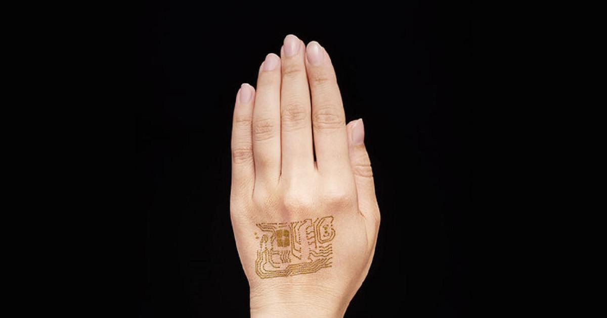 Nanomesh, il circuito elettronico che si tatua sulla pelle