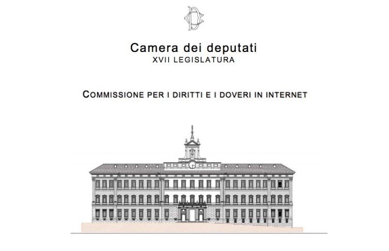 La camera dei deputati dice s alla carta dei diritti in for Web tv camera dei deputati