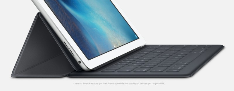 Smart Keyboard per iPad Pro