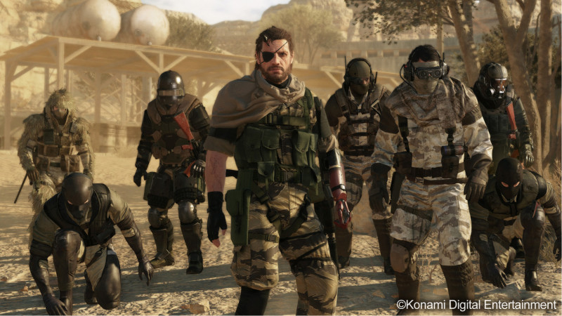 Metal Gear Solid V Patch dicembre