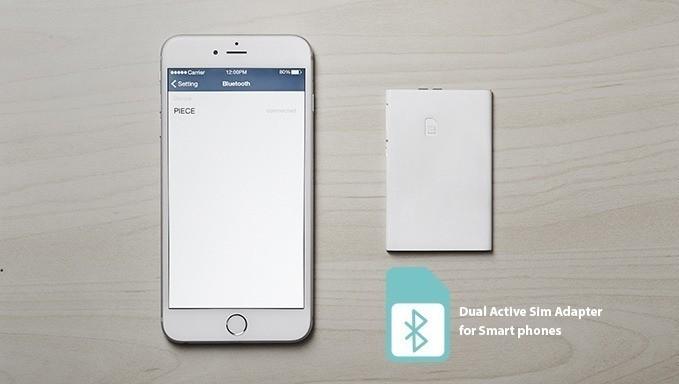 Piece, il gadget tascabile per usare due SIM con un solo smartphone