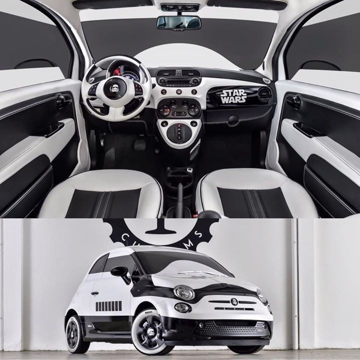 Fiat 500e Stormtrooper Imperdibile Per I Fan Di Star Wars