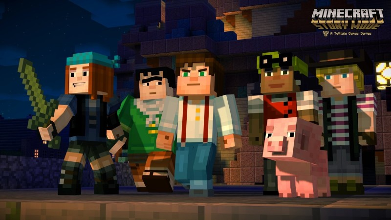 Minecraft Story Mode Episodio 3