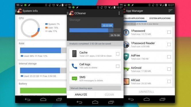CCleaner for Android Beta header 664x374