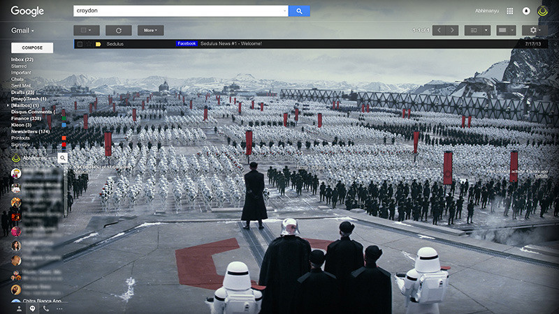 Choose a side and Google will revamp its apps with Star Wars themed content