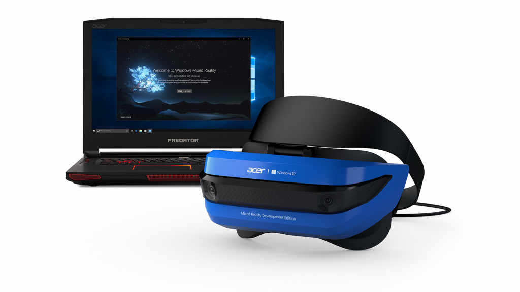 1488454047 Acer Windows Mixed Reality Development Edition headset