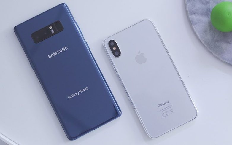 iPhone 8 VS Galaxy Note 8