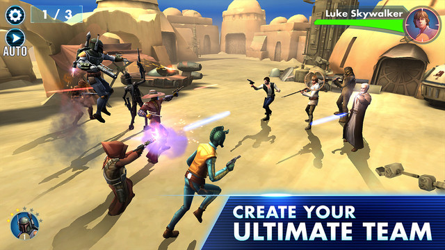 Star Wars The Galaxy Of Heroes