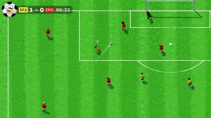sociable soccer gameplay