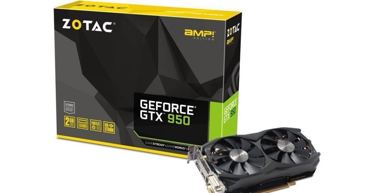 Sconti Nvidia GTX 950, basso costo e buone prestazioni #TomSconti