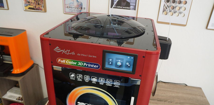 da Vinci color inkjet 3D printer 01