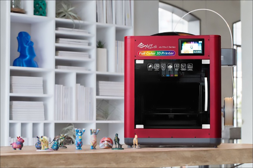 xyzprinting announces 3000 dollars da vinci full color 3d printer with 3dcolorjet technology 1