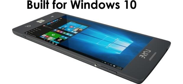 f9f496fc0282d Smartphone con Windows 10 Desktop