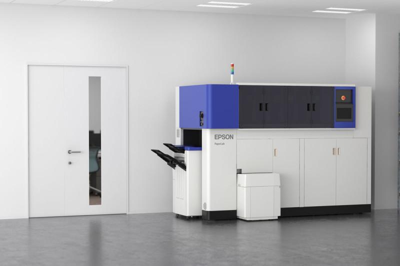 Ufficio Primo : Epson paperlab il primo sistema per riciclare carta in ufficio
