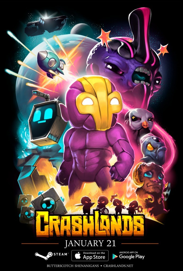 Crashlands Android iOS Steam