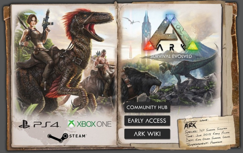 Ark Survival Evolved Xbox One PS4